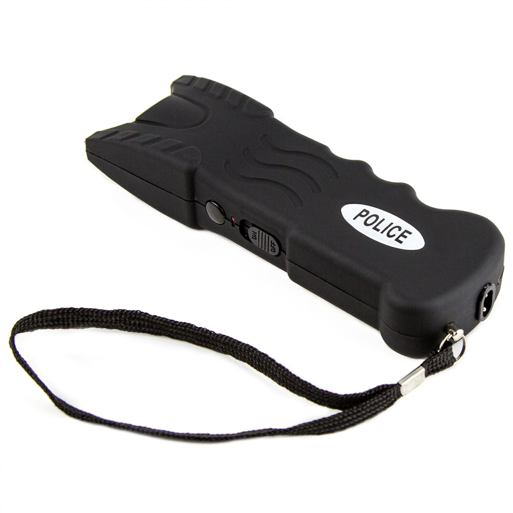 Black Heavy Duty Stun Gun Police 916 With Safety Disable Pin Led Flashlight Schematic Diagram Policemart Self Defense Equipment For Sale