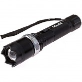 POLICE Stun Gun T10 - 58 Billion Metal Rechargeable with Zoom LED Tactical Flashlight