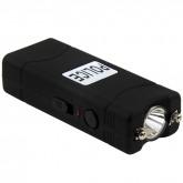 POLICE Stun Gun 801 - 35 Billion Micro Rechargeable with LED Flashlight, Black