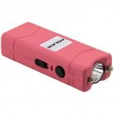 POLICE Stun Gun 801 - 40 Billion Micro Rechargeable with LED Flashlight - Pink