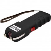 POLICE 928 - 58 Billion Heavy Duty Stun Gun - Rechargeable with LED Flashlight, Black