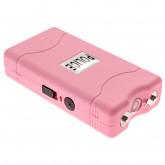 Police 800 - Max Voltage Super Powerful Mini Stun Gun - Rechargeable With Holster Case, Pink