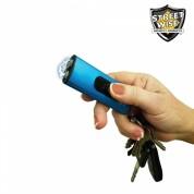 Streetwise USB Secure Keychain Stun Gun - BLUE