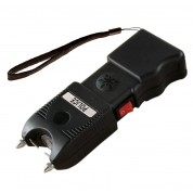 Police TW11 - Max Voltage Heavy Duty Stun Gun - Rechargeable With Ear-Piercing Siren Alarm LED Flashlight and Holster