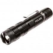 POLICE Stun Gun Flashlight M12 Black - Wholesale Lot (set of 25)