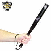 Heavy Hitter Aluminum Bat Baton With LED Flashlight