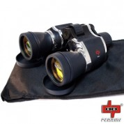 MILITARY 20x60 High Quality Outdoor Chrome Binoculars w/Pouch by Perrini