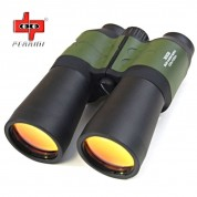 Day/Night 30X50 Multi-Coated Military Green Binoculars Hunting Outdoor Telescope
