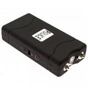 POLICE 800 - MAX VOLTAGE Mini Stun Gun - Rechargeable With LED Flashlight, Black