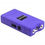 POLICE Stun Gun 800 - 30 Billion Mini Rechargeable with LED Flashlight - Purple