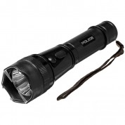 POLICE Stun Gun 1109 - 58 Billion Metal Rechargeable with LED Tactical Flashlight