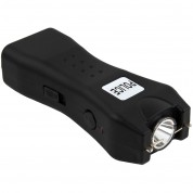 POLICE Stun Gun 618 - 53 Billion Rechargeable with LED Flashlight, Black
