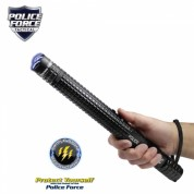 Police Force 12,000,000* Tactical Stun Baton Flashlight