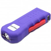 POLICE Stun Gun 512 - Max Voltage Rechargeable With LED Flashlight, Purple