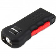 POLICE Stun Gun 512 - Max Voltage Rechargeable With LED Flashlight, Black