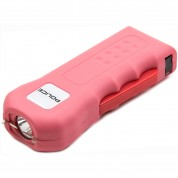 POLICE Stun Gun 512 - Max Voltage Rechargeable With LED Flashlight, Pink