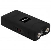 POLICE Stun Gun 800 - 30 Billion Mini Rechargeable with LED Flashlight - Black