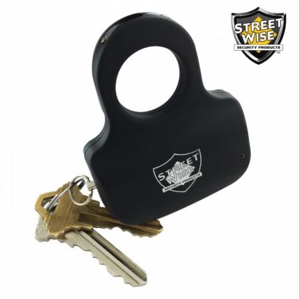 Streetwise Sting Ring 18,000,000 Stun Gun w/ Key Ring - BLACK