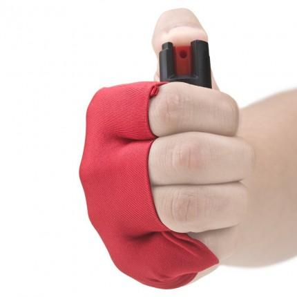 Guard Dog Security Pepper Spray - Runner/Jogger InstaFire Activewear Hand Sleeve RED