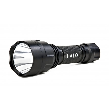Guard Dog Security Halo 290 Lumen 5 Function Waterproof Rechargeable Tactical Flashlight