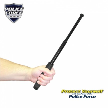 "Police Force 16"" Expandable Steel Baton"