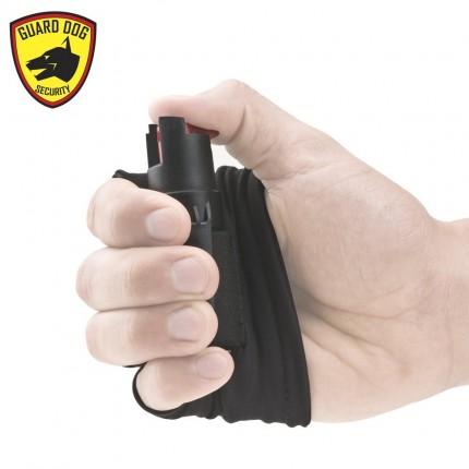 Guard Dog Security Pepper Spray - Runner/Jogger InstaFire Activewear Hand Sleeve BLACK