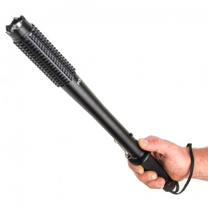 POLICE Barbarian Stun Gun Baton 1188 - 78 Billion Metal Heavy Duty Rechargeable With LED Flashlight