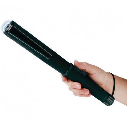 JOLT Peacemaker 97M Stun Gun Baton Rechargeable With LED Flashljght