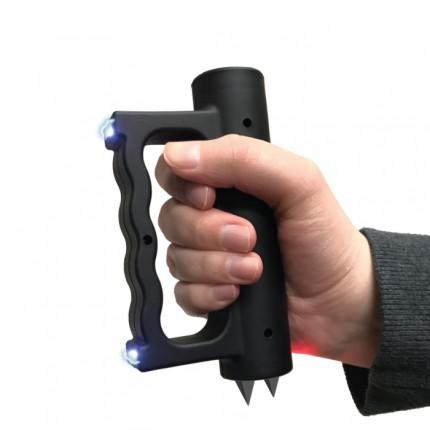 Streetwise Me2 Stun Gun Rechargeable With LED Flashlight Black