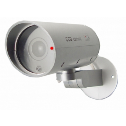 DUMMY CAMERA INDOOR/OUTDOOR HOUSING WITH MOTION DETECTOR