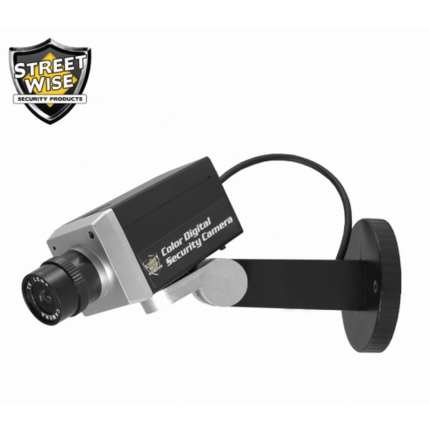 Streetwise Dummy Camera with Intruder Alert